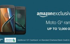 Amazon Moto G4 Offers