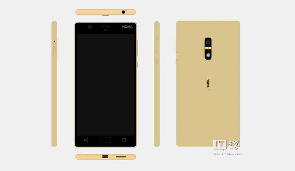Nokia D1C Gold Colour Variant