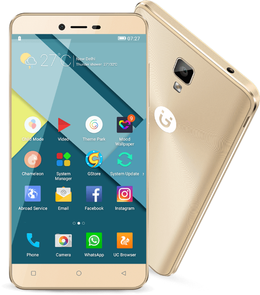 Gionee P7 Gold