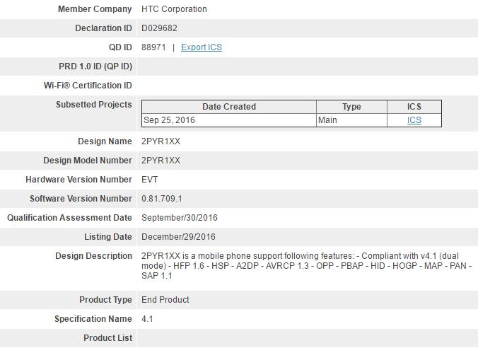 HTC X10 leaked