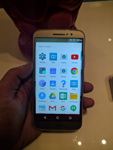 Moto M Stock Android