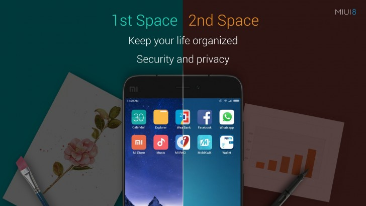 MIUI 8 Second Space