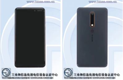 Nokia 6 (2018) Revealed Through TENAA