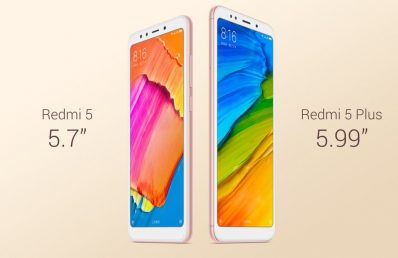 Redmi 5 & Redmi 5 Plus Launched: Bezel-less Display Phones under Rs. 10,000!