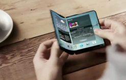 Samsung's foldable phone prototype