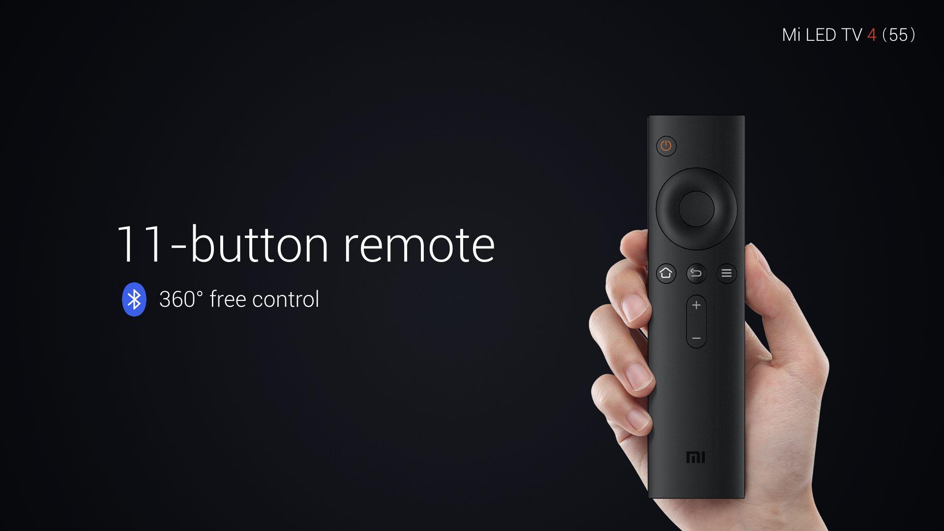 Mi TV 4 Bluetooth Remote Control