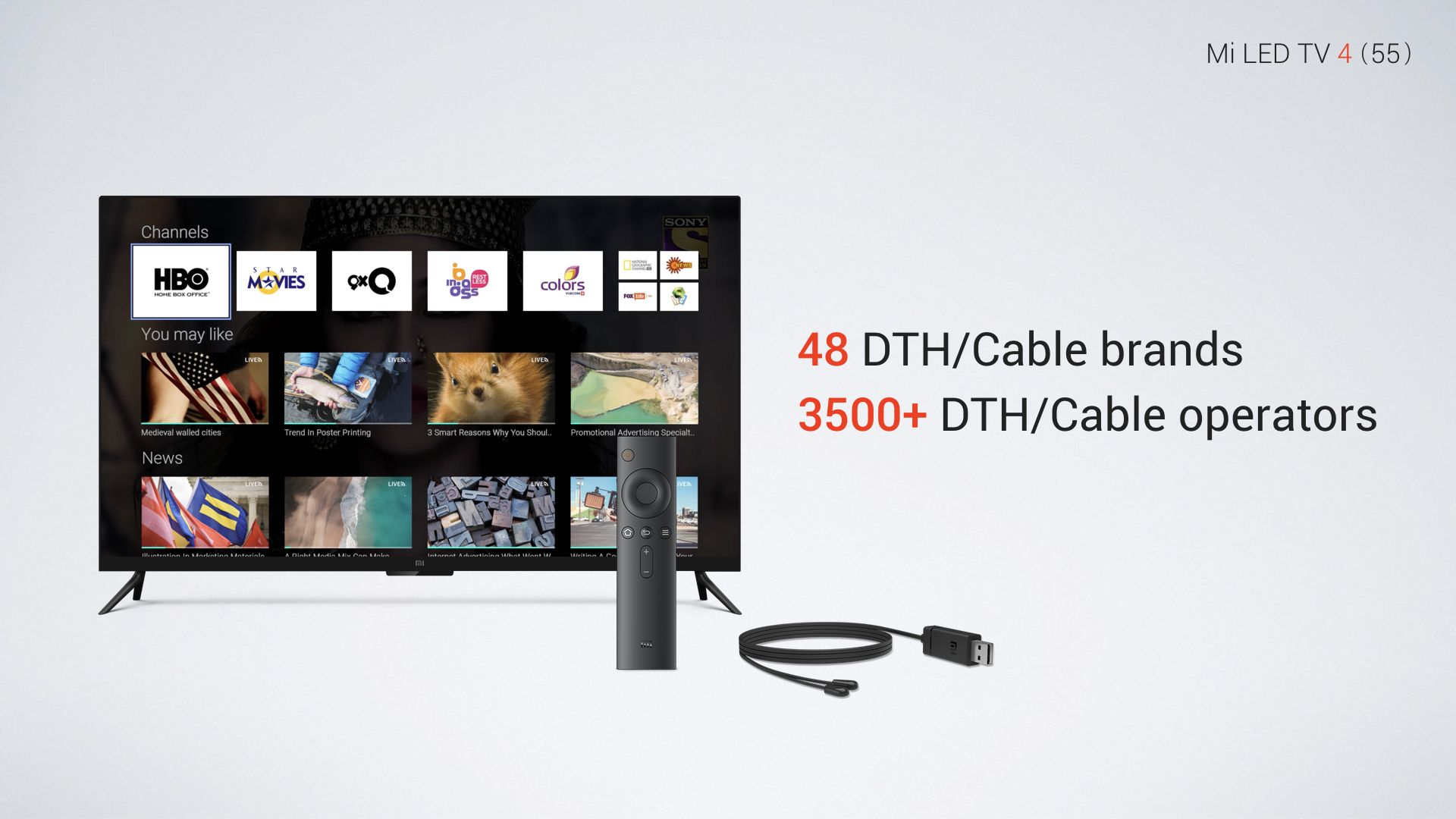 Xiaomi Mi Tv 4 With 55 Inch Screen Launches In India At Rs
