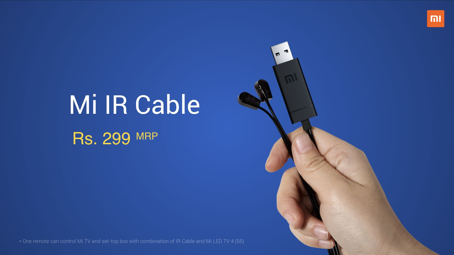 Mi TV 4 IR Cable