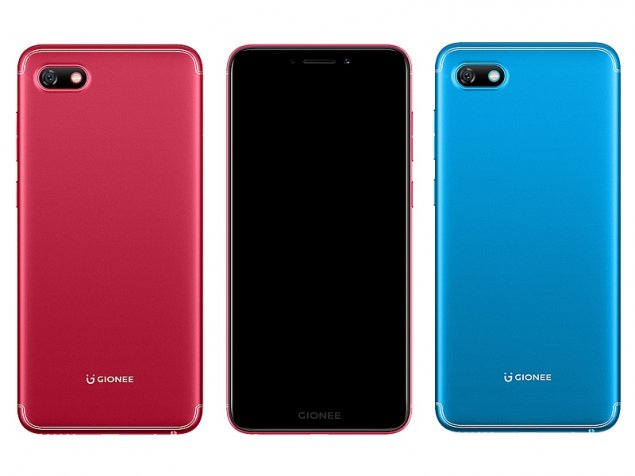 Gionee S11 Lite & F205 Smartphones with 18:9 Displays Launched in India