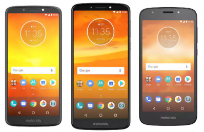 Motorola Announced 6 New Smartphones in the G6 and E5 Series: Price & Specifications