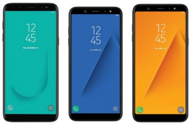 Samsung Galaxy A6 and Galaxy A6+ Launched with Infinity Display & AI powered Cameras