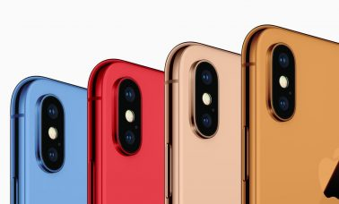 2018 iPhones Color Mock Up
