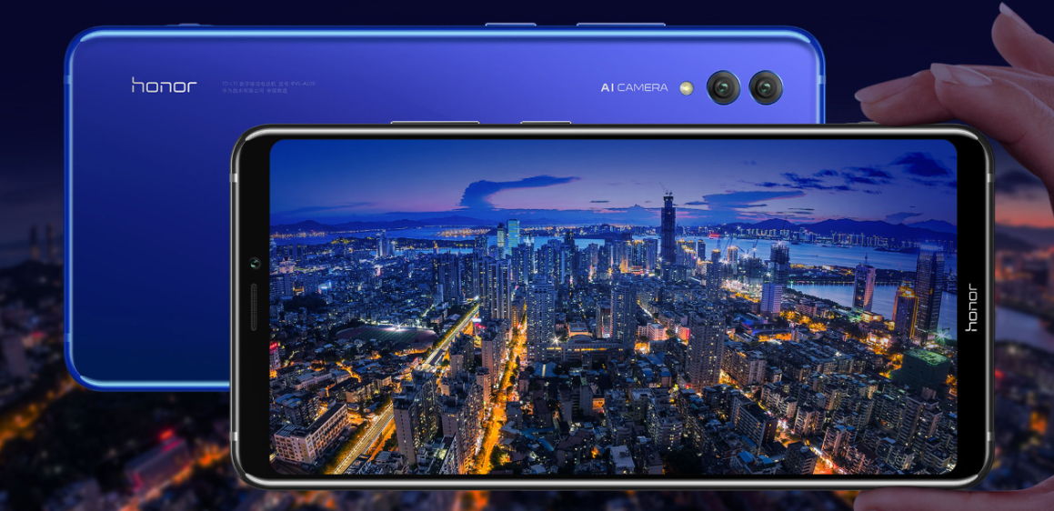 Honor Note 10 front and rear