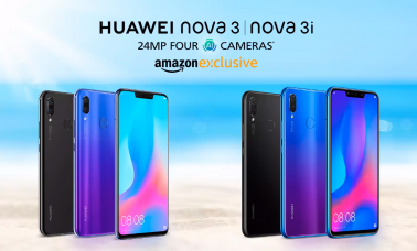 Huawei Nova 3 and Nova 3i