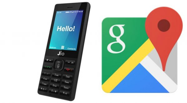 JioPhone Gets Google Maps Support With The Latest Software Update