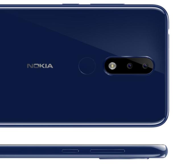 Nokia X5 Rear Camera