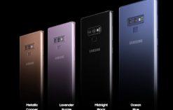 Samsung Galaxy Note 9 Color Variants