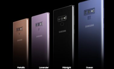 Samsung Galaxy Note 9 Color Variants