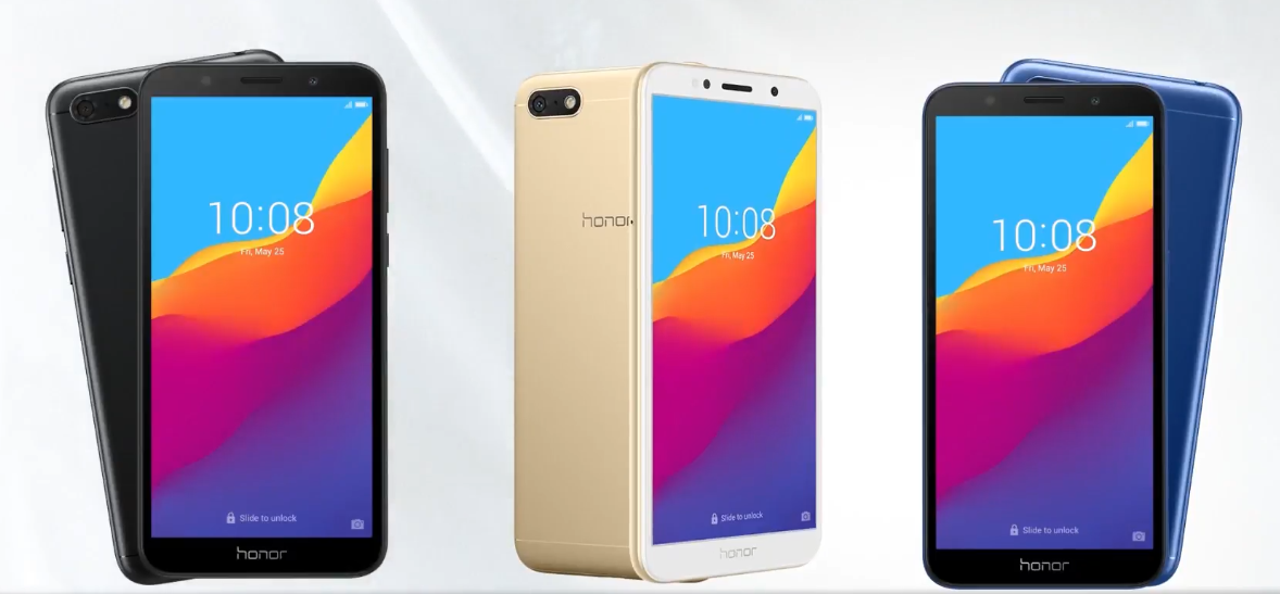 Honor 7S color variants
