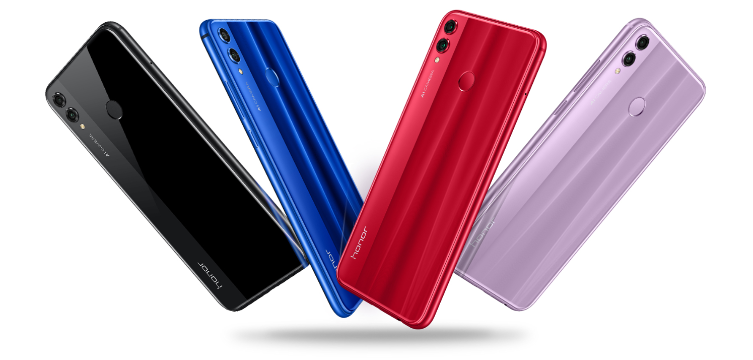 Honor 8X color variants
