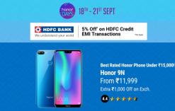 Honor Days Sale
