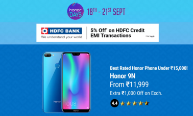 Honor Days Sale