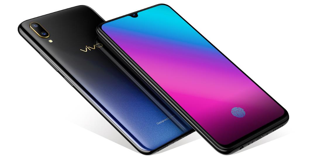 Vivo V11 Pro display and rear