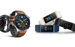Huawei Watch GT and Huawei Band 3 Pro