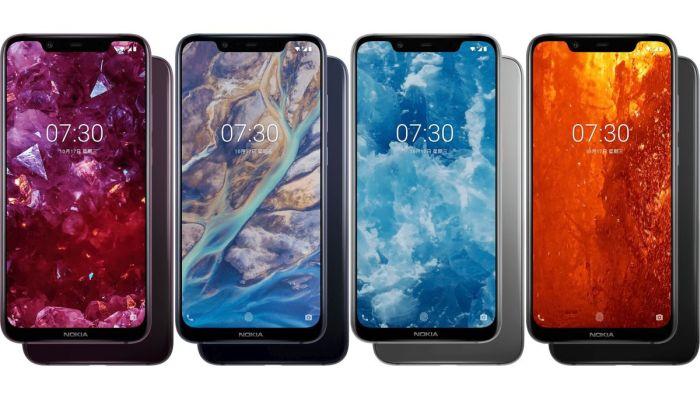 Nokia X7 Color Variants