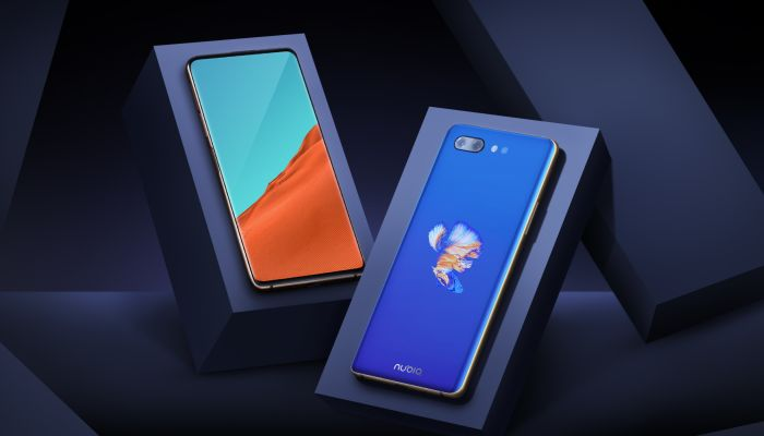 Nubia X Front and Rear