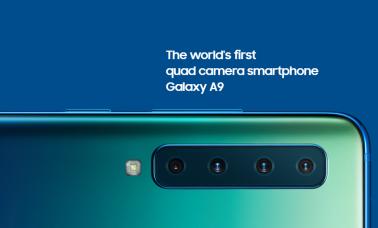 Samsung Galaxy A9 (2018) header