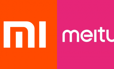 Mi and Meitu logos