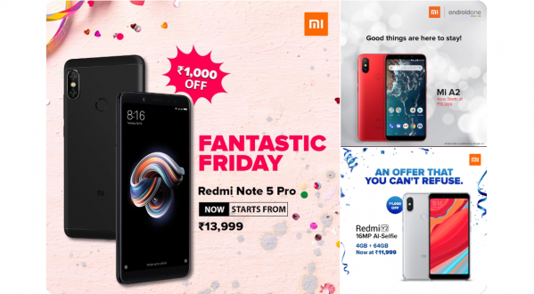 Xiaomi Redmi Y2, Redmi Note 5 Pro and Mi A2 Price Permanently Slashed by Rs 1,000