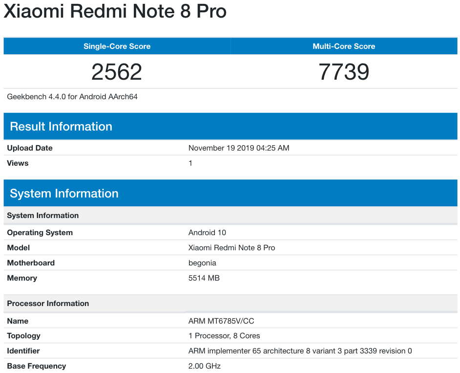 redmi note 8 pro android 10 update